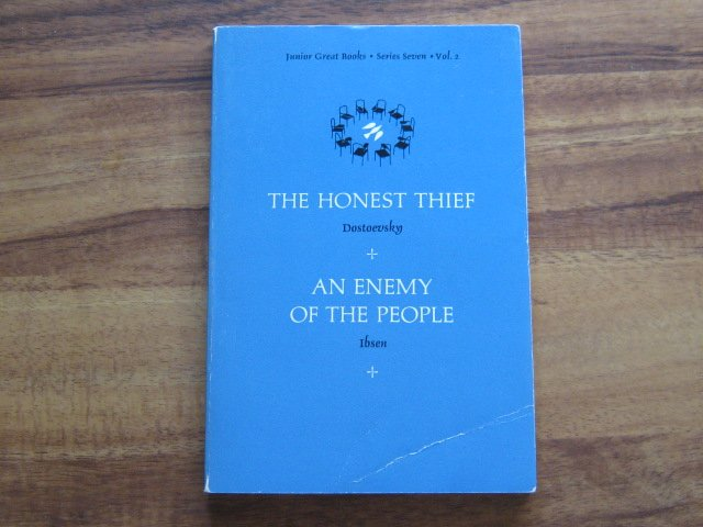 The Honest Thief & An Enemy of the People By Junior Great Books