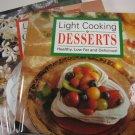 Light Cooking Cookbooks Set of 3