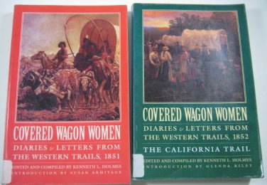 Covered Wagon Women Vol 3 & 4 Diaries Western Trails