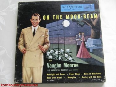 Vaughn Moore On the Moon Beam 45 RPM Record Set