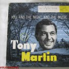 Tony Martin You and the Night and the Music 45 RPM Record Set