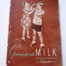 Carnation Growing Up With Milk 1944 Recipe Book
