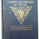 A Popular History of Music by W S B Mathews