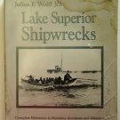 Lake Superior Shipwrecks by Julius F. Wolff Jr