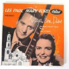 Vaya Con Dios Les Paul Mary Ford Record 45 RPM