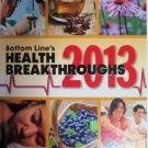 Bottom Line's Health Breakthroughs 2013