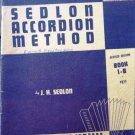 Sedlon Accordion Method Accordion Book 1-B 1953