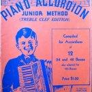 Zordan's Piano Accordion Junior Method 1937