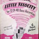 Advanced Little Velocity Accordion Book Gaviani 1949