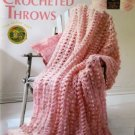 Leisure Arts Crocheted Throws 8 Designs