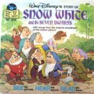 Disney's Snow White and the Seven Dwarfs Book and Record Set