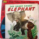 Little Golden Book & Record The Saggy Baggy Elephant