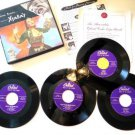 Voice of the Xtabay Yma Sumac 45 rpm Record Set