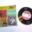 My Fair Lady On The Street Where You Live 45 Rpm Record