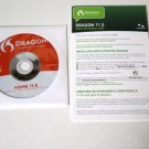 Nuance Dragon Natually Speaking DVD Home 11.5