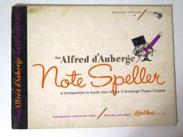The Alfred d�Auberge Note Speller