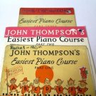 John Thompson's Easiest Piano Course Part One Two Three