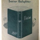 1941 Des Moines Lincoln High Railsplitter Yearbook January