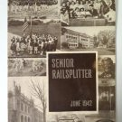 1942 Des Moines Lincoln High Railsplitter Yearbook