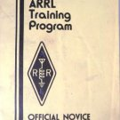 The ARRL Training Program Official Novice Student Workbook