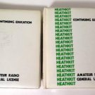 Heathkit Amateur Radio General License Continuing Education 2 Vol