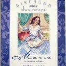 Girlhood Journeys: Marie An Invitation to Dance