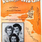Rum and Coca-Cola 1944 Sheet Music Featured by the Andrews Sisters