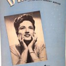 Dream 1945 Sheet Music by Johnny Mercer Features Joan Brooks