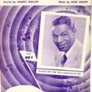 Somewhere Along the Way 1952 Sheet Music