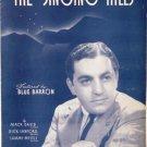 The Singing Hills 1940 Sheet Music