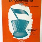 La Cumparsita 1956 Accordion Sheet Music