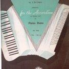 La Spagnola Waltz 1920 Accordion Sheet Music