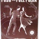 Push and Pull Polka 1951 Accordion Sheet Music