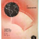 Tango of the Roses 1928 Accordion Sheet Music