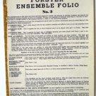 Forster Ensemble Folio No 3 1938 Accordion