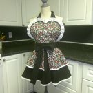 Retro Apron Women Handmade Cotton Layered Skirts