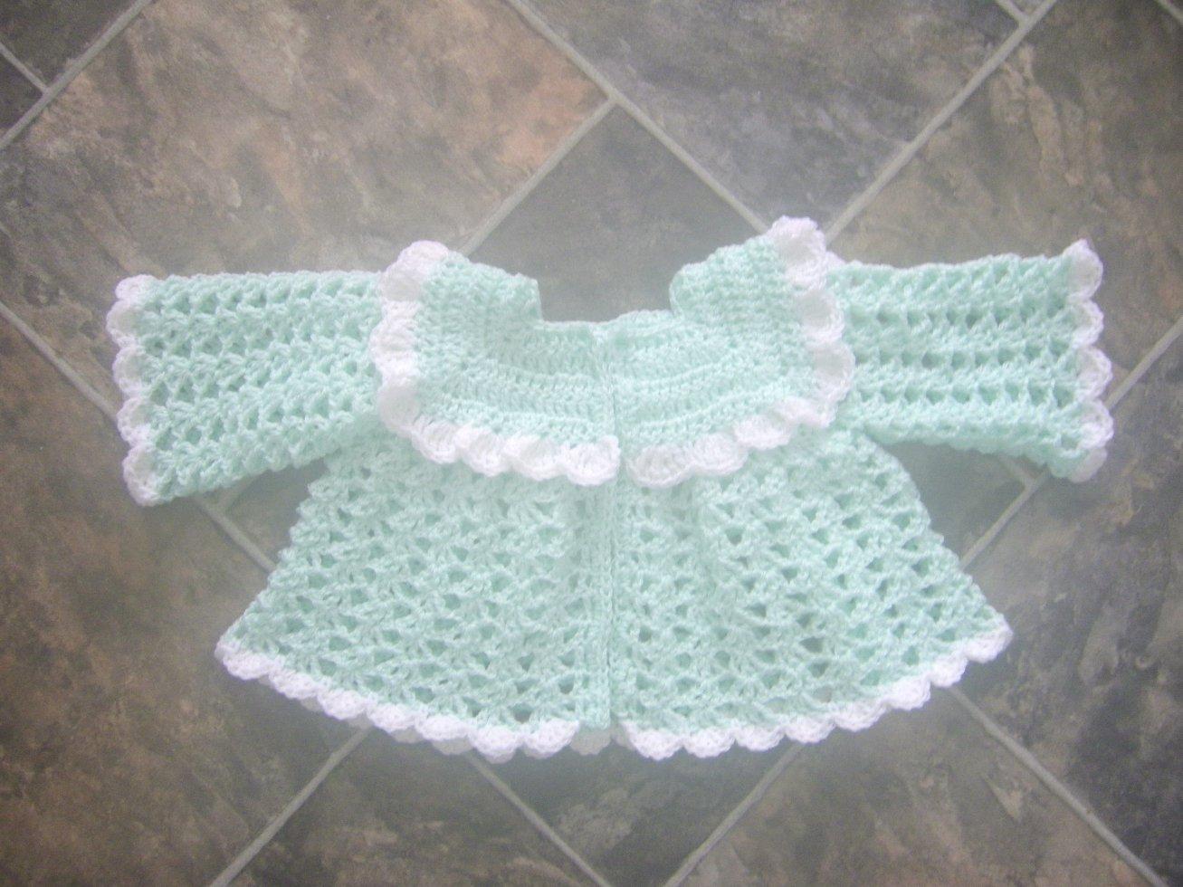 Sweater Coat Babies Reborn Dolls Crochet