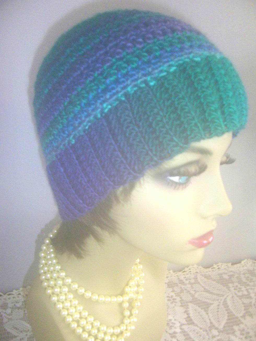 Messy Bun Hat Winter Beanie