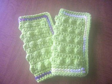 Dishcloths Handmade Kitchen Dish Cloths Crocheted Scrubby Dishcloths