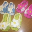 Open Toe Shoes Peek-A-Boo Sandals For Baby in Cotton Summer Baby Sandals