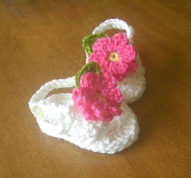 Baby Sandals Crochet Cotton Baby Shoes Sandals For Baby Cotton Crochet Summer Sandals