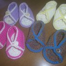 Baby Sandals Crochet Cotton Baby Shoes Sandals For Baby in Cotton Crochet Summer Sandals