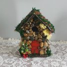 HANDMADE FAIRY HOUSE HANDCRAFTED Stone FAIRY HOUSE Yard Decor