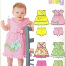 Pattern Baby 4 Sizes Dress Bloomers Sundress New Look 6199 Summer