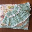 Baby Blanket Sweater Set Handmade Nursery Accessories Baby Quilt Jacket