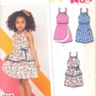Girls Pattern Child 6 Sizes Dress New Look 6222 Summer Clothes