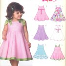 Girls Pattern Toddler 5 Sizes Dress New Look 6688 Summer Clothes