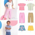 Unisex Pattern Toddler 5 Sizes Top Pants Shirt Skirt Shorts New Look 6880 Summer Clothes
