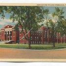 Agriculture College Gymnasium Fargo North Dakota Postcard