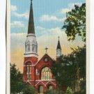 St Marys Cathedral Fargo North Dakota Postcard